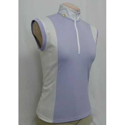 Show shirt Sweet mauve, no sleeves
