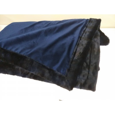 Couverture de carriole bleue  52x62 po