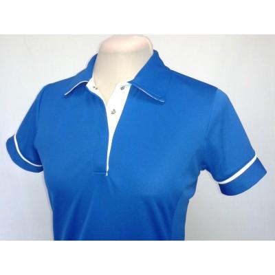 Polo  Sprint bleu royal